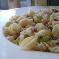 Sausage Pasta with Peppers