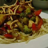 Honey Soy Garlic Chicken Stir-Fry