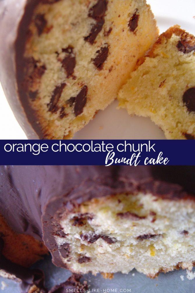 orange chocolate bundt cake
