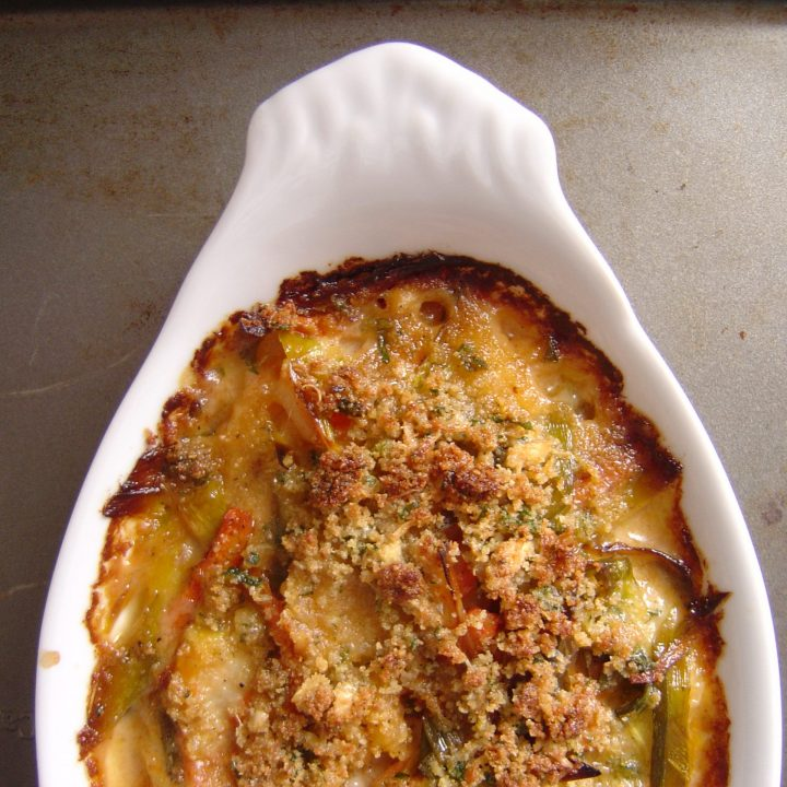 Seafood Gratin (Seafood Casserole)