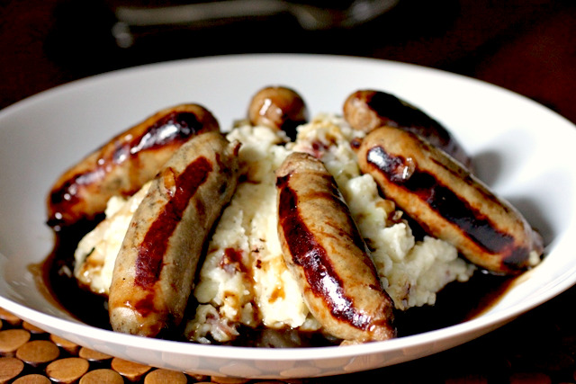 Irish bangers and colcannon smells like home for Classic house bangers