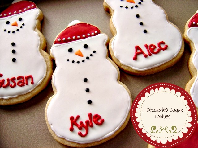 Decorating Sugar Cookies For Christmas Ideas Decorated Sugar Cookies Using