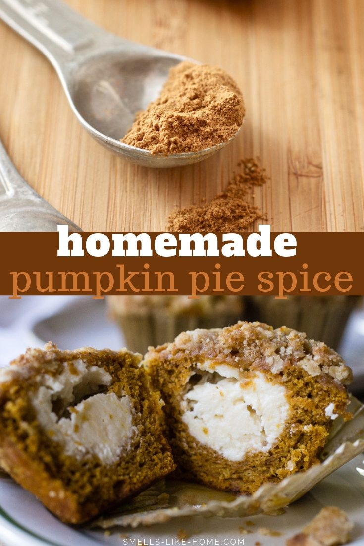 Homemade Pumpkin Pie Spice: What's in pumpkin pie spice? 5 min and 5 ingredients are all you need to make your own pumpkin pie spice recipe! #pumpkinpiespice #pumpkinspice #pumpkinrecipes #fallbaking #pumpkinpiespicerecipe