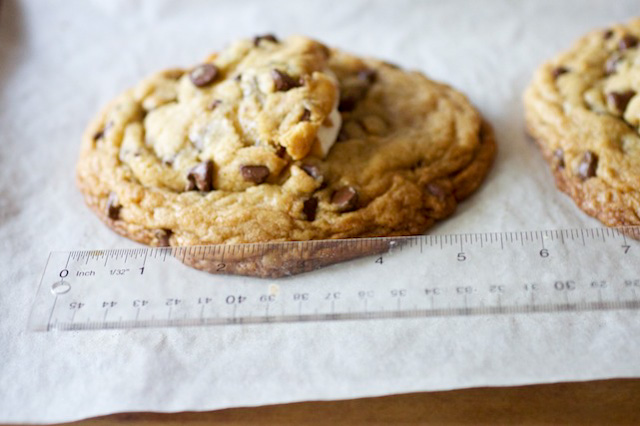 Giant S'mores Stuffed Chocolate Chip Cookies - Smells Like Home