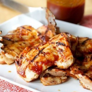 Quick-Brined Barbecued Chicken Thighs