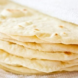 Homemade Soft Flour Tortillas