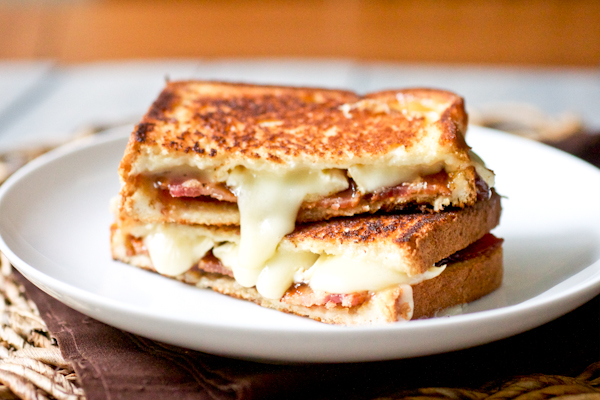 Bacon Jam And Avocado Grilled Cheese Sandwich Recipes — Dishmaps