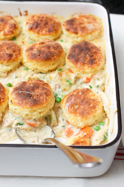 Recipe Homemade Chicken Pot Pie With Biscuits 8