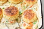 Chicken and Biscuits Pot Pie