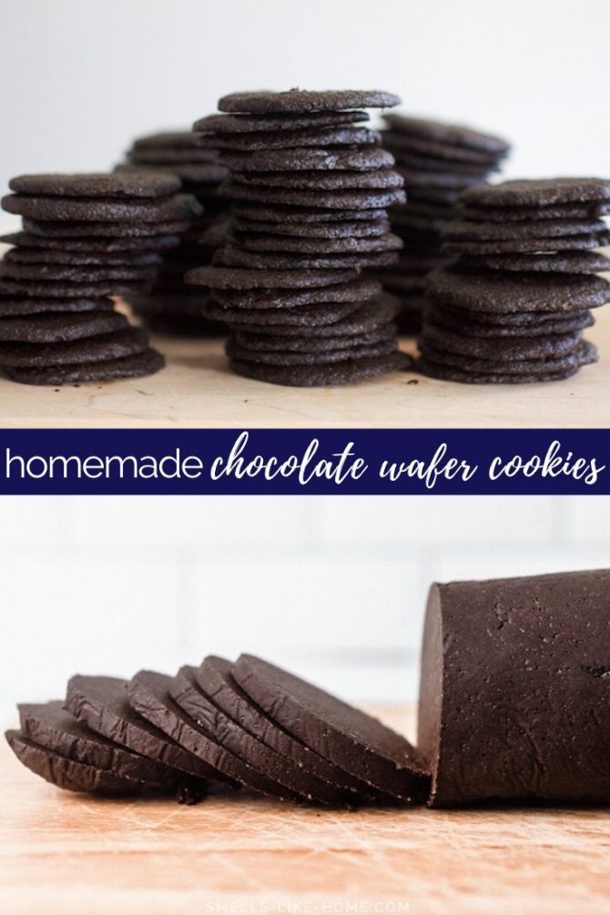 Homemade Chocolate Wafer Cookies