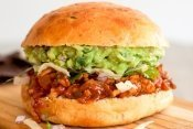 Tex Mex Sloppy Joes