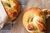 Soft Pretzels with Roasted Jalapeño Cheese Sauce