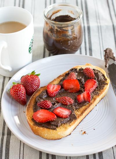 Chocolate Peanut Butter Spread (Peanutella)