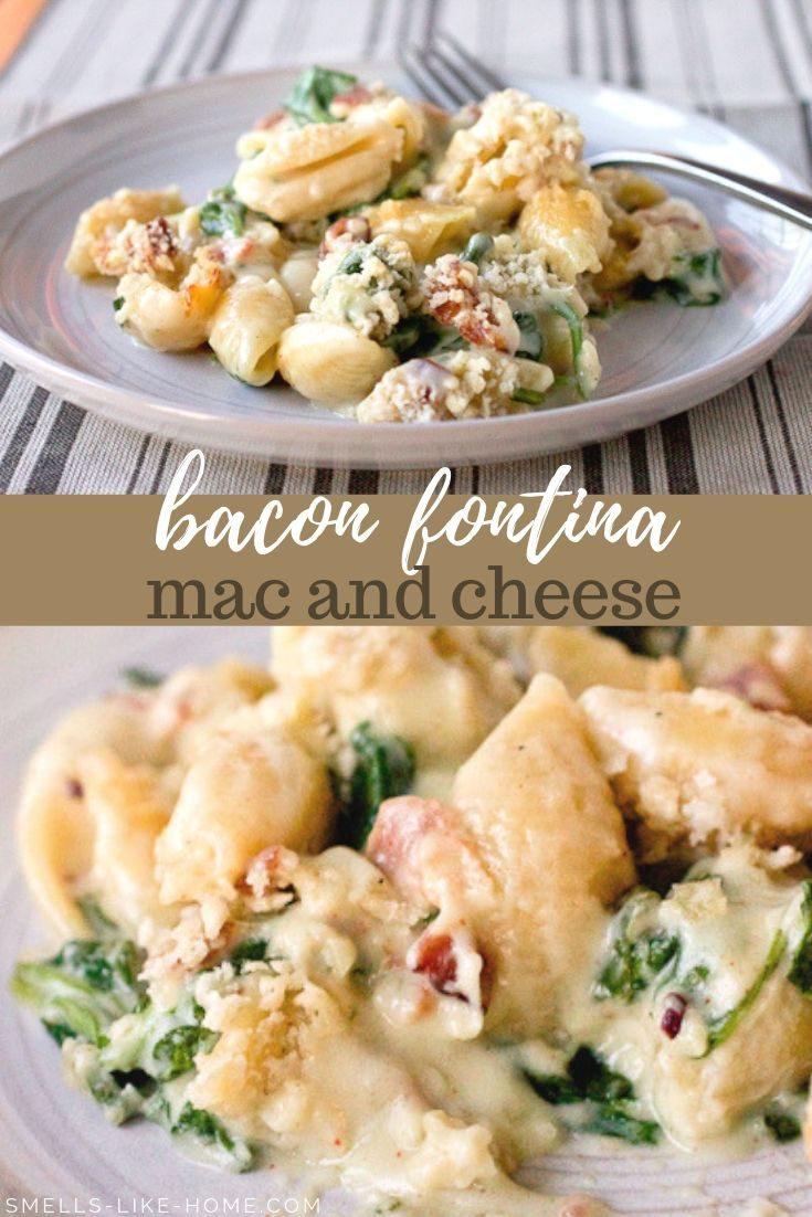 Bacon Fontina Mac and Cheese