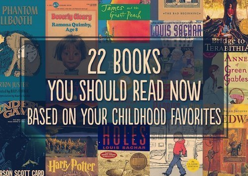 22 books to read based on your childhood favorites