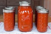 Home Canned Marinara Sauce