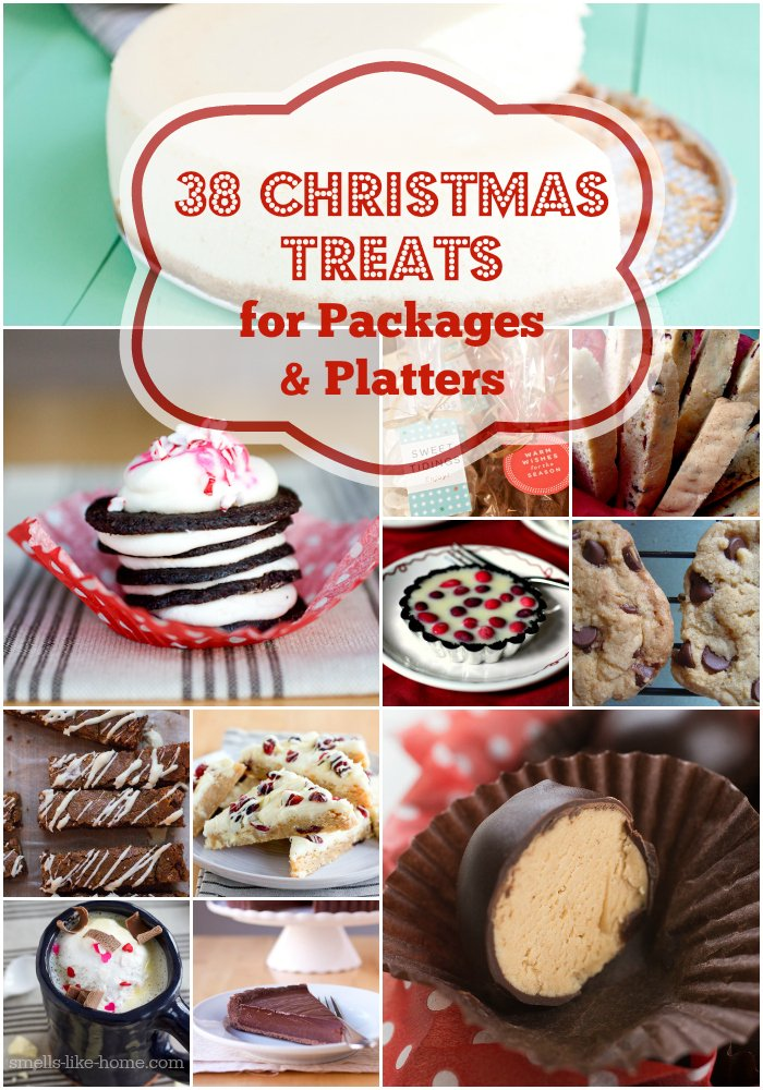 38 Treats for Holiday Treat Packages & Platters