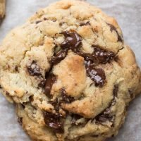 Levain Copycat Giant Dark Chocolate Chunk Cookies