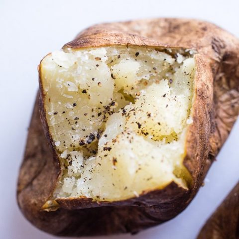 The Best Oven Baked Potato