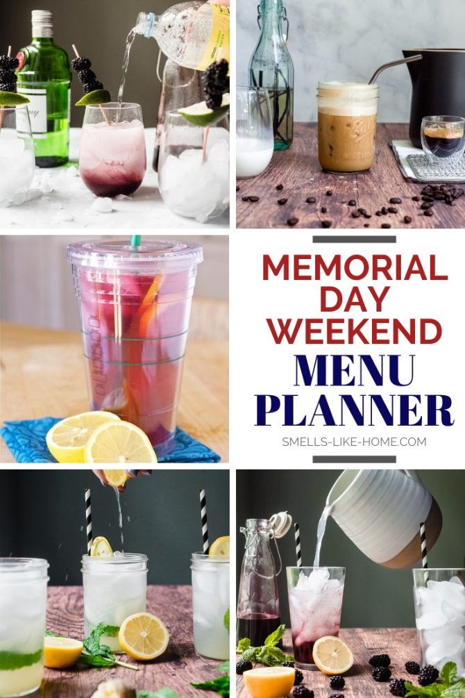 The Ultimate Memorial Day Weekend Menu Planner