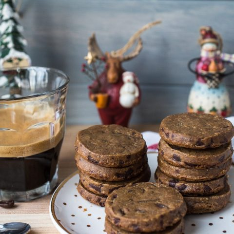 Espresso Dark Chocolate Sables