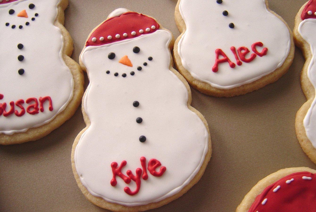 Snowmen & Mitten Sugar Cookies