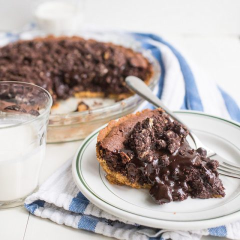 Milk Bar Fudgy Brownie Pie