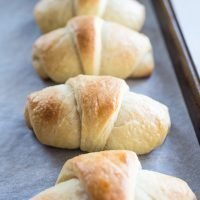 Homemade Crescent Dinner Rolls