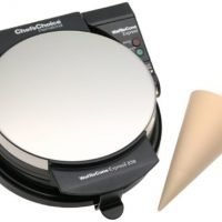 Chef'sChoice Chef's Choice 838 Waffle Express Ice Cream Cone Maker, Silver