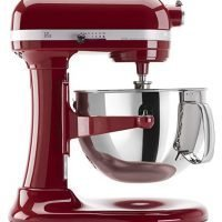 KitchenAid  6 Qt. Professional 600 Series Bowl-Lift Stand Mixer - Empire Red