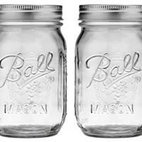 Ball Pint Mason Jar, Regular Mouth, 16 oz (2 Count)
