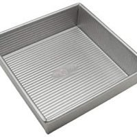 USA Pan Bakeware Square Cake Pan, 8 inch, Nonstick & Quick Release Coating
