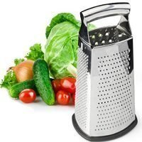 Spring Chef Stainless Steel Box Grater (Large)