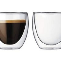 Bodum Pavina 2.5-Ounce Double-Wall Thermo Glasses (Espresso/Shot), Set of 2