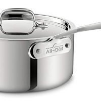 All-Clad 3-quart Stainless Steel Tri-Ply Bonded Dishwasher Safe Sauce Pan with Lid / Cookware