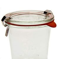 Weck Tall Mold Jar - 6.7 oz (1/5 liter), Set of 6