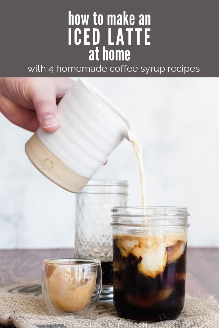 How to Make an Iced Latte at Home