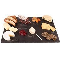 Slate cheese board (14x20-inch) with Soap Stone Chalk