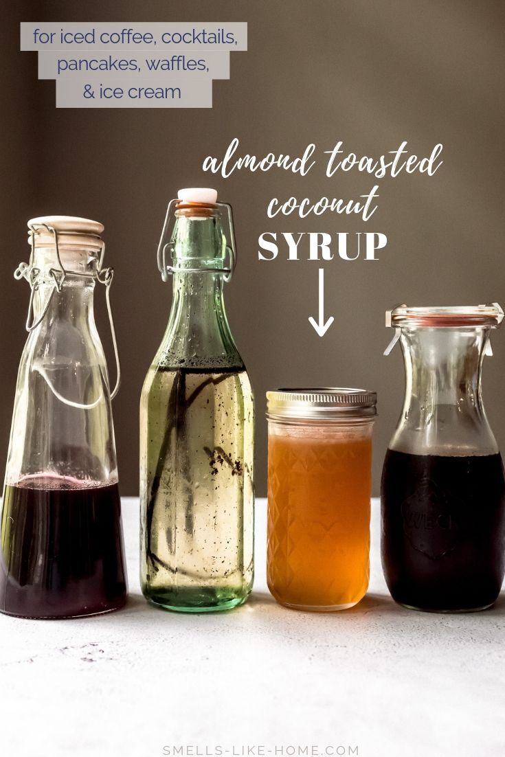 Almond Toasted Coconut Syrup