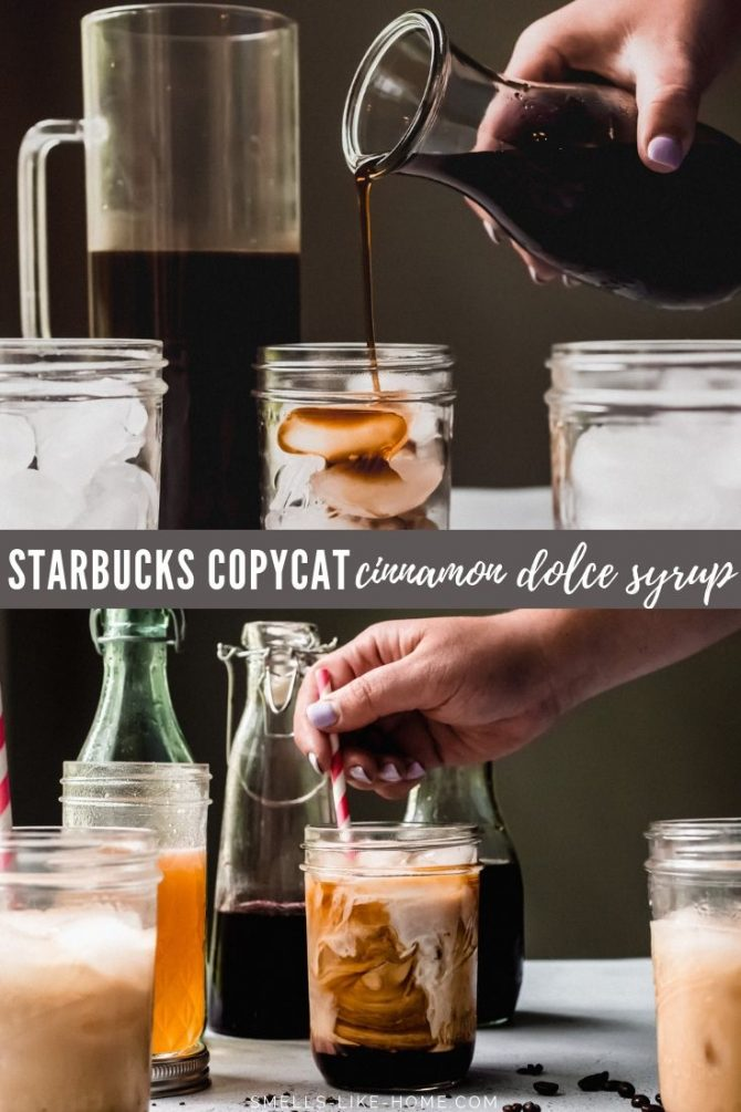 Cinnamon Brown Sugar Cinnamon Dolce Coffee Syrup
