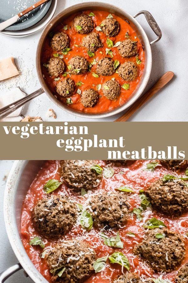 Eggplant Meatballs (Meatless Meatballs)