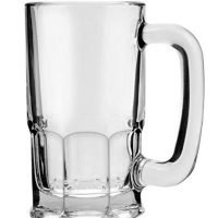 Anchor Hocking 93001 Beer Mugs Set, UNIT, Clear