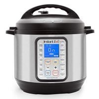 Instant Pot DUO Plus 60, 6 Qt 9-in-1 Multi- Use Programmable Pressure Cooker, Slow Cooker, Rice Cooker, Yogurt Maker, Egg Cooker, Saute, Steamer, Warmer, and Sterilizer