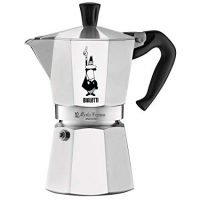 Bialetti Moka stove top coffee maker, 6 -Cup, Aluminum