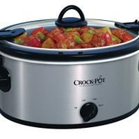 Crock-Pot 4-Quart Cook and Carry Slow Cooker, Stainless Steel