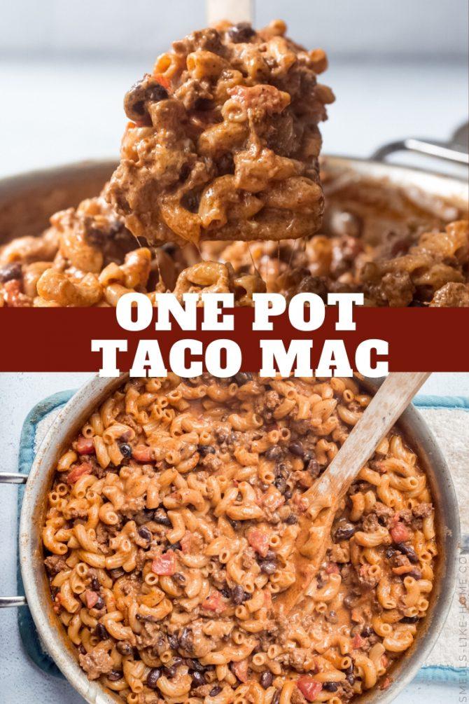 One Pot Taco Mac