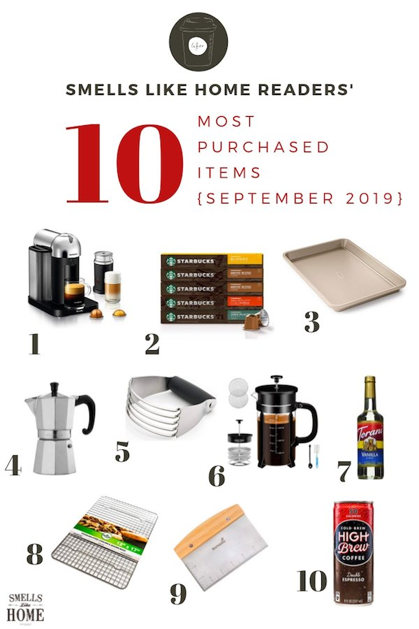 Top 10 Reader Purchases (September 2019)