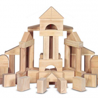 Melissa & Doug Wooden Block Set