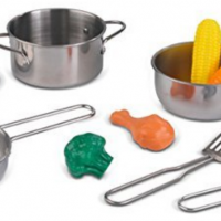 KidKraft Play Kitchen Pots & Pans