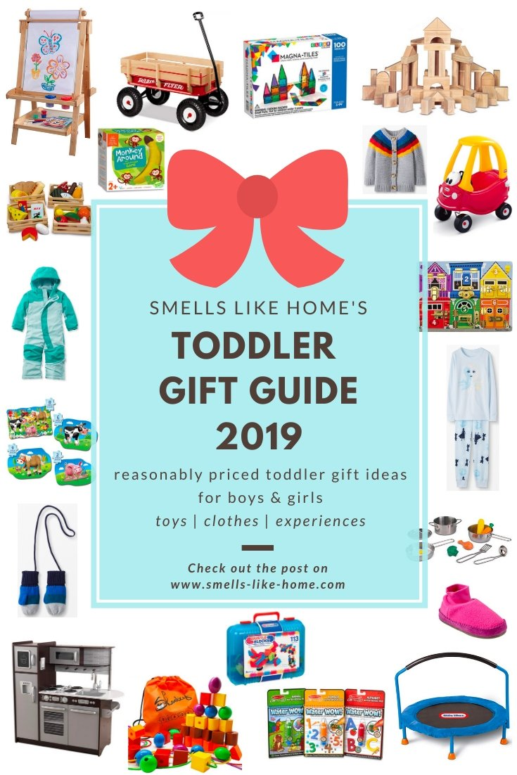 Smells Like Home's Toddler Gift Guide 2019